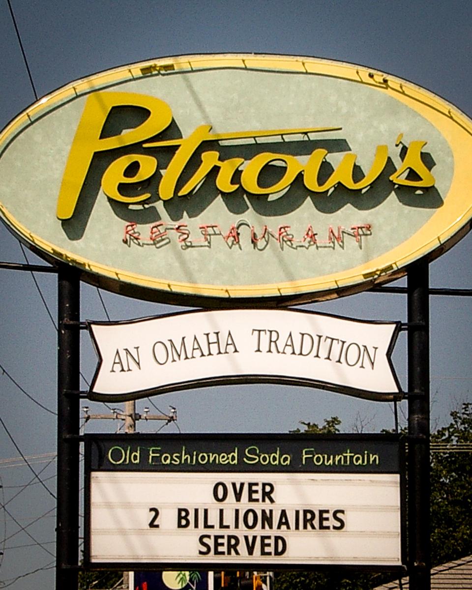 Petrow's restaurant, Omaha, 2005