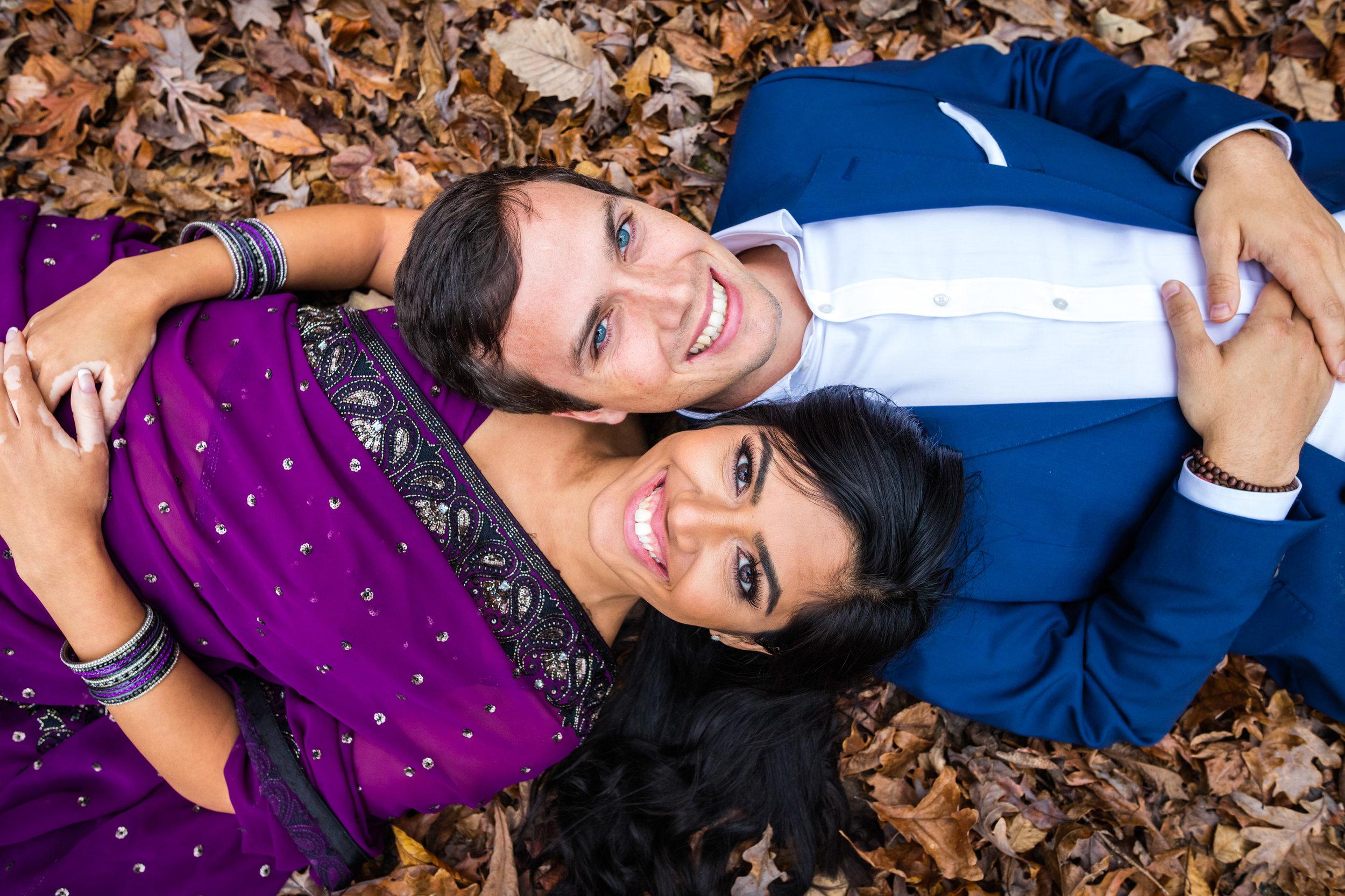 Engagement Shoot in Atlanta Fall