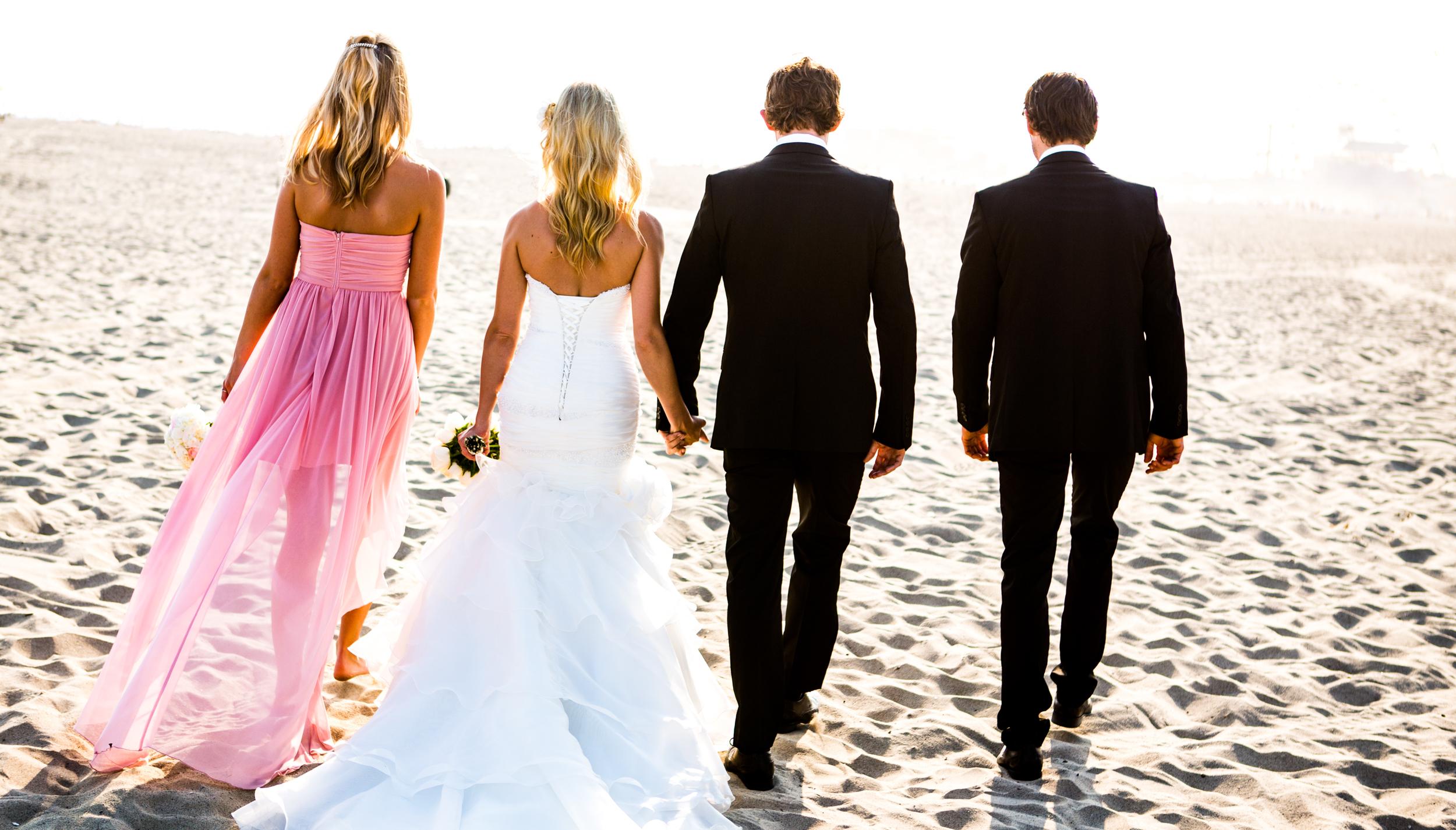 Wedding Party Beach Sunset .jpg