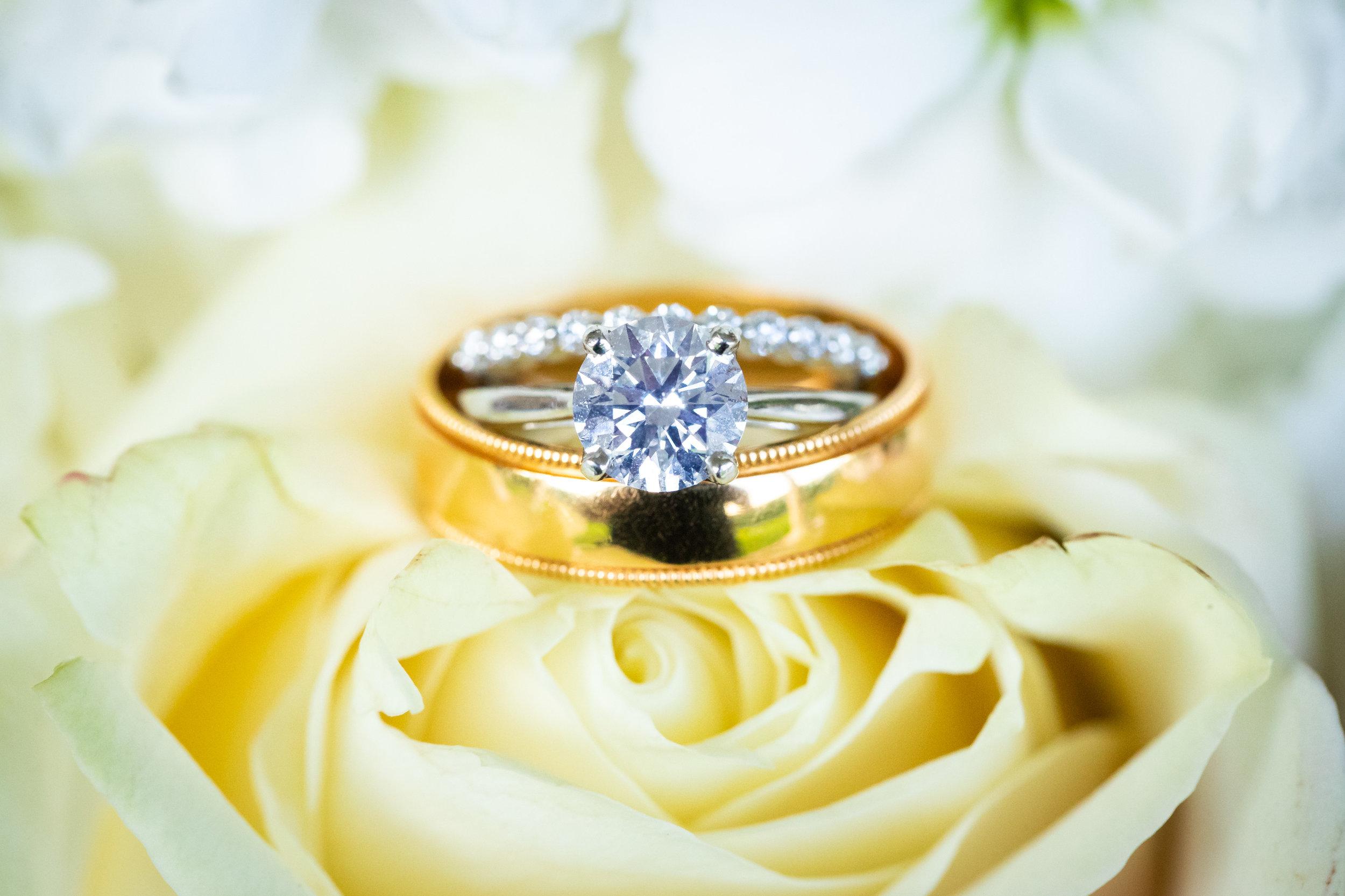 Wedding Ring Macro Engagement Ring