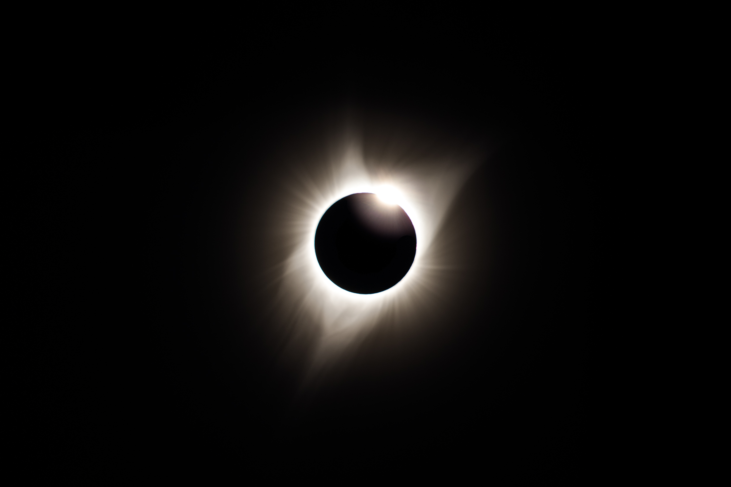Total Solar Eclipse, August 2017, Stanley, Idaho
