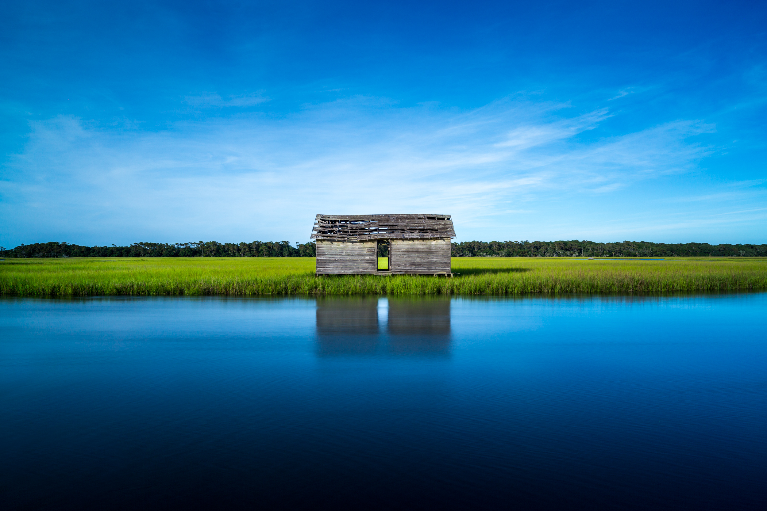 Baldhead Island Boathouse, North Carolina