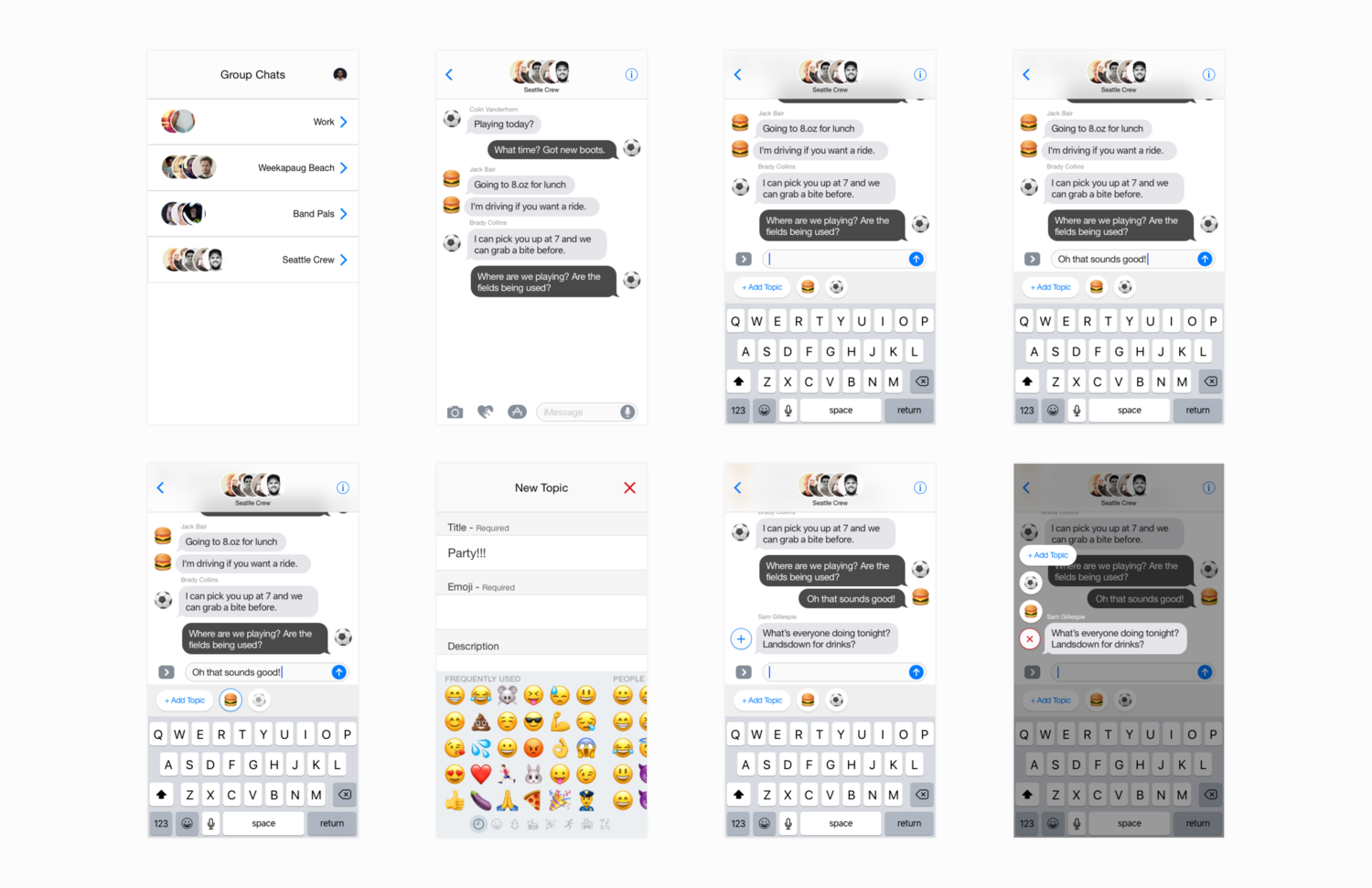 A Better Group Chat — Matthew Caggiano