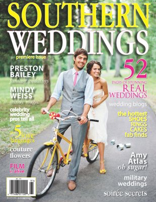 cover of Southern Weddings premier issue