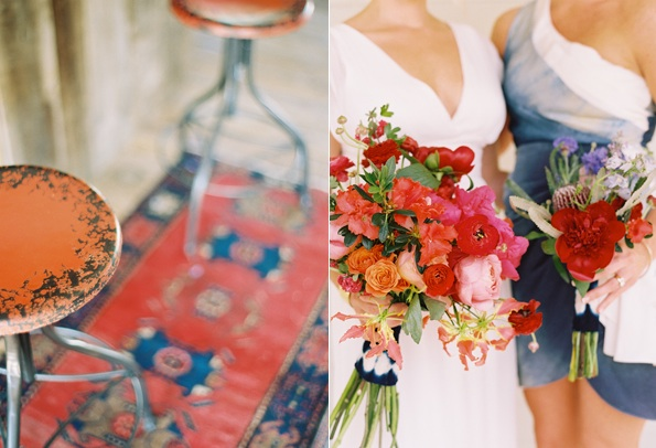 oriental-rugs-wedding-reception-decorations-bridesmaid-bouquets-red-blue.jpg