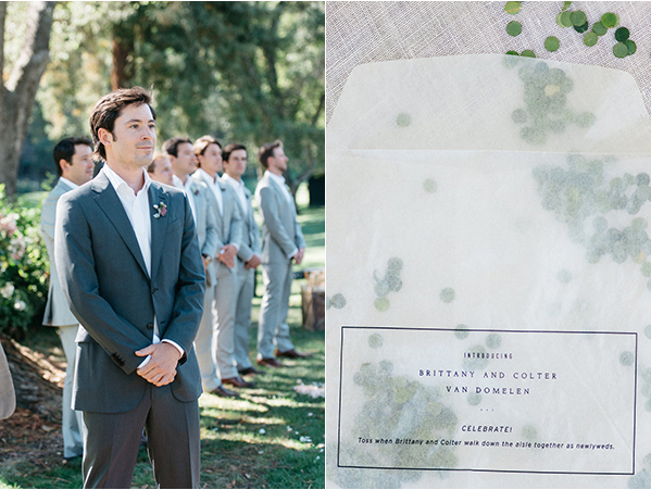 joy-thigpen-napa-wedding-groom-aisle-detail-vellum-gather-co-leaf-confetti-toss.jpg