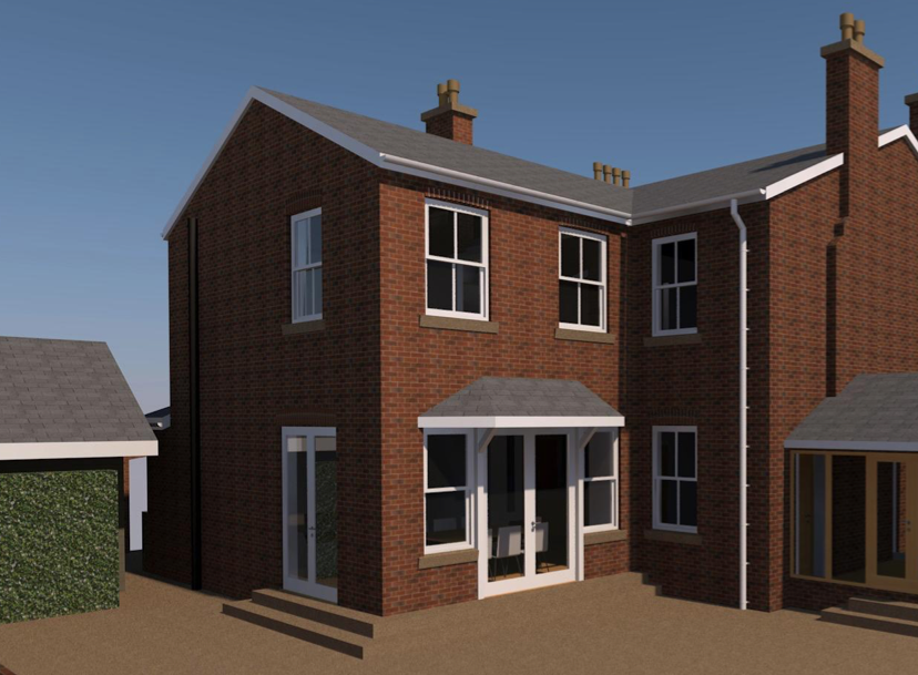 Sympathetic Extension to Victorian House