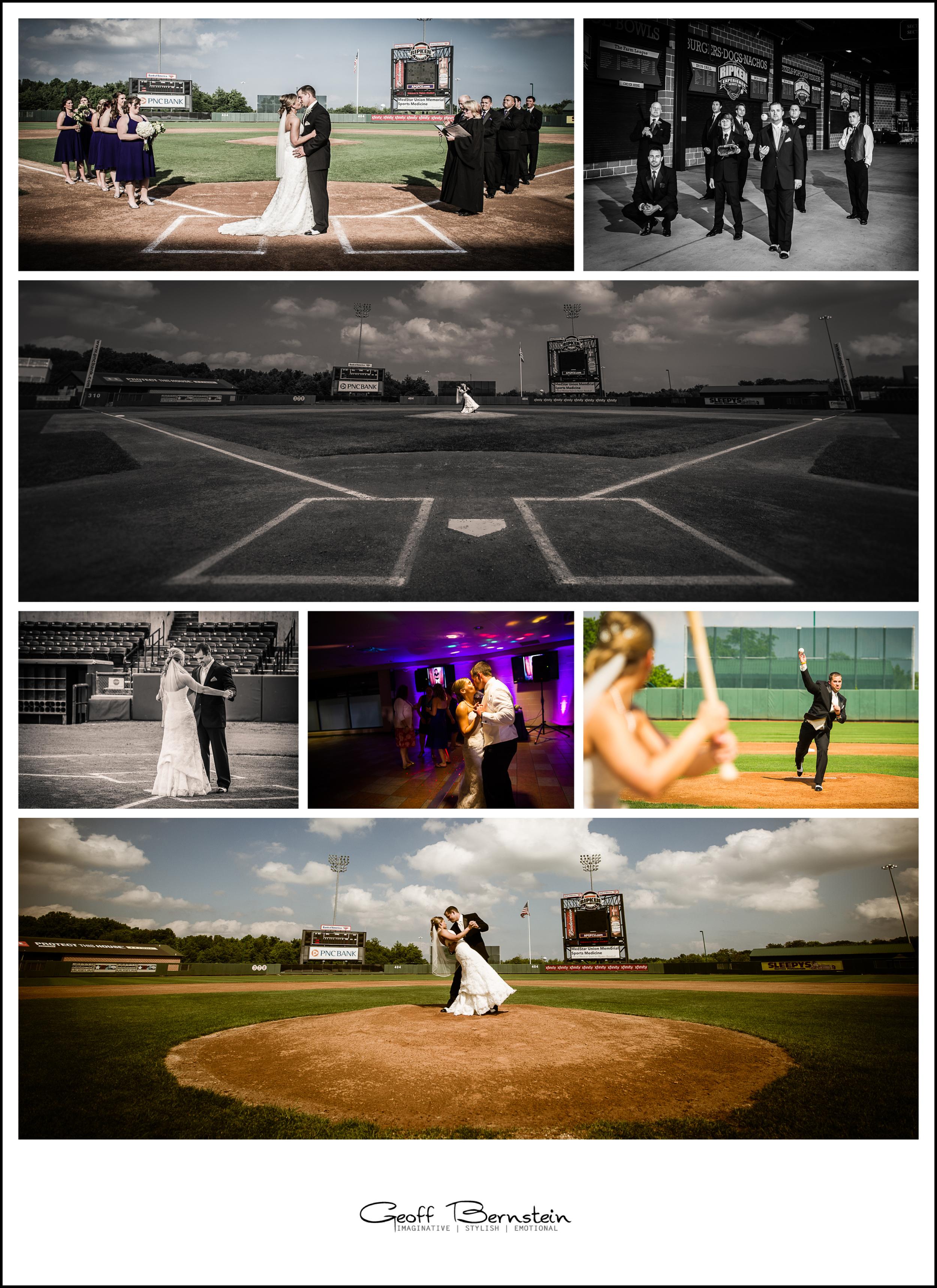 Baseball Wedding | Aberdeen Wedding