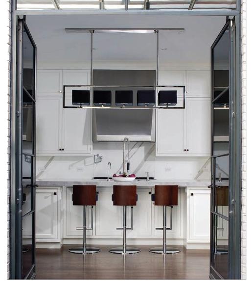 Geometric Chandelier, Custom - JP Interiors