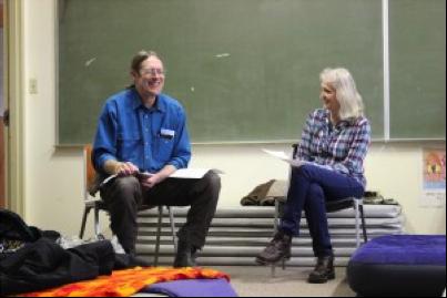 Pastor Dan Jacobs and Cindi Jo Trahms