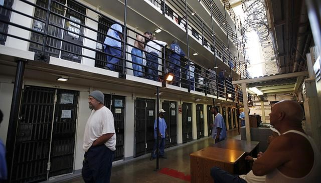 A cell block in Minnesota.