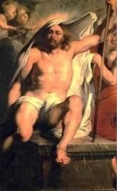 Christ Resurrected  (detail); Peter Paul Rubens, 1616