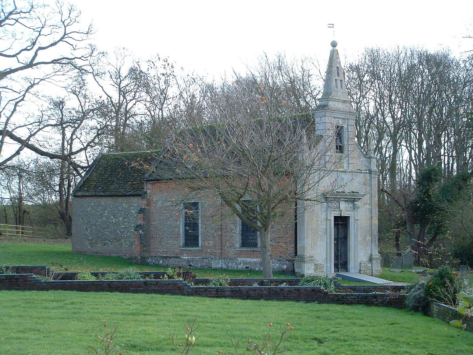 The Church of St. John the Evangelist, Little Gidding, Huntingdonshire, England