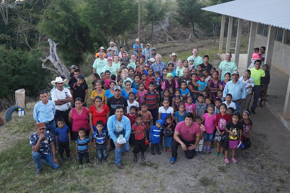 Trinity, Medford, members with mission partners in Taguayni, Guatemala