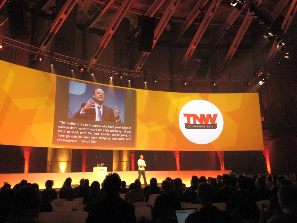 Great talk by Andrew Keil at The Next Web 2012 about how big companies are broken