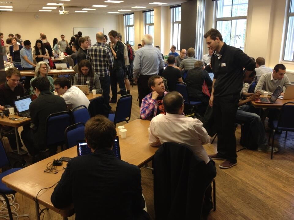 Amazing energy at NHS Hack Day