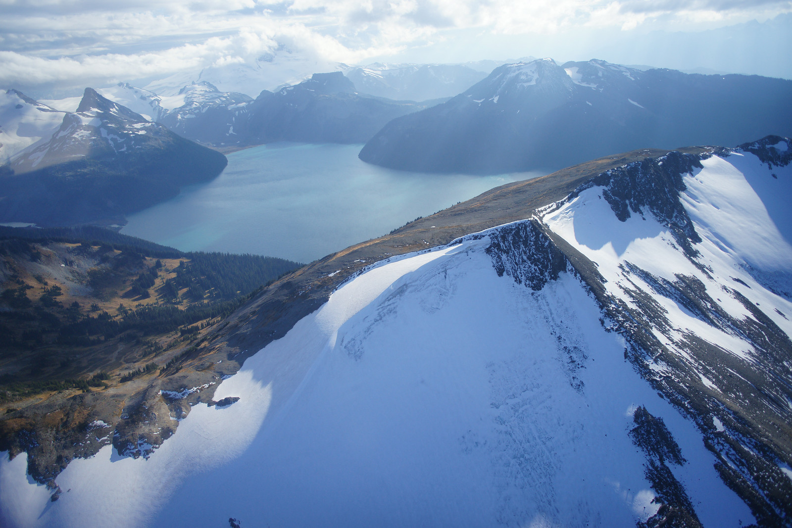 The Alpine scenery of Garibaldi Provincial Park (Canada)