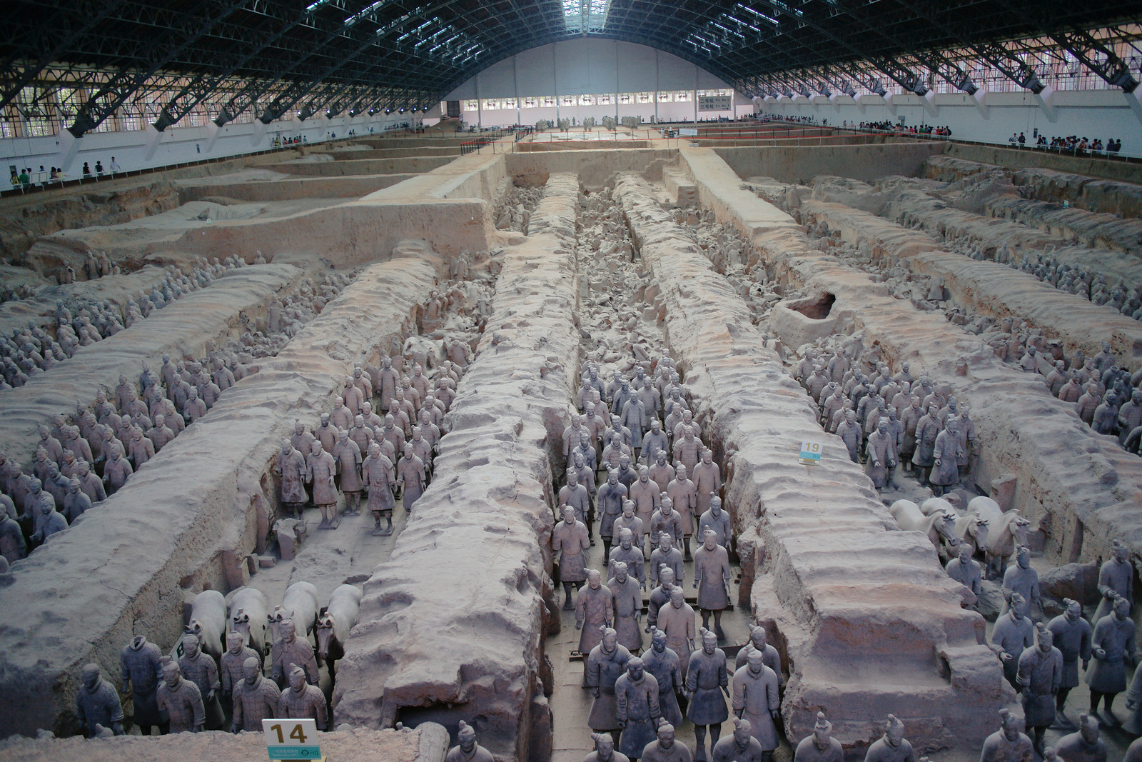 Pit 1, Terracotta Warriors (Xian, China)