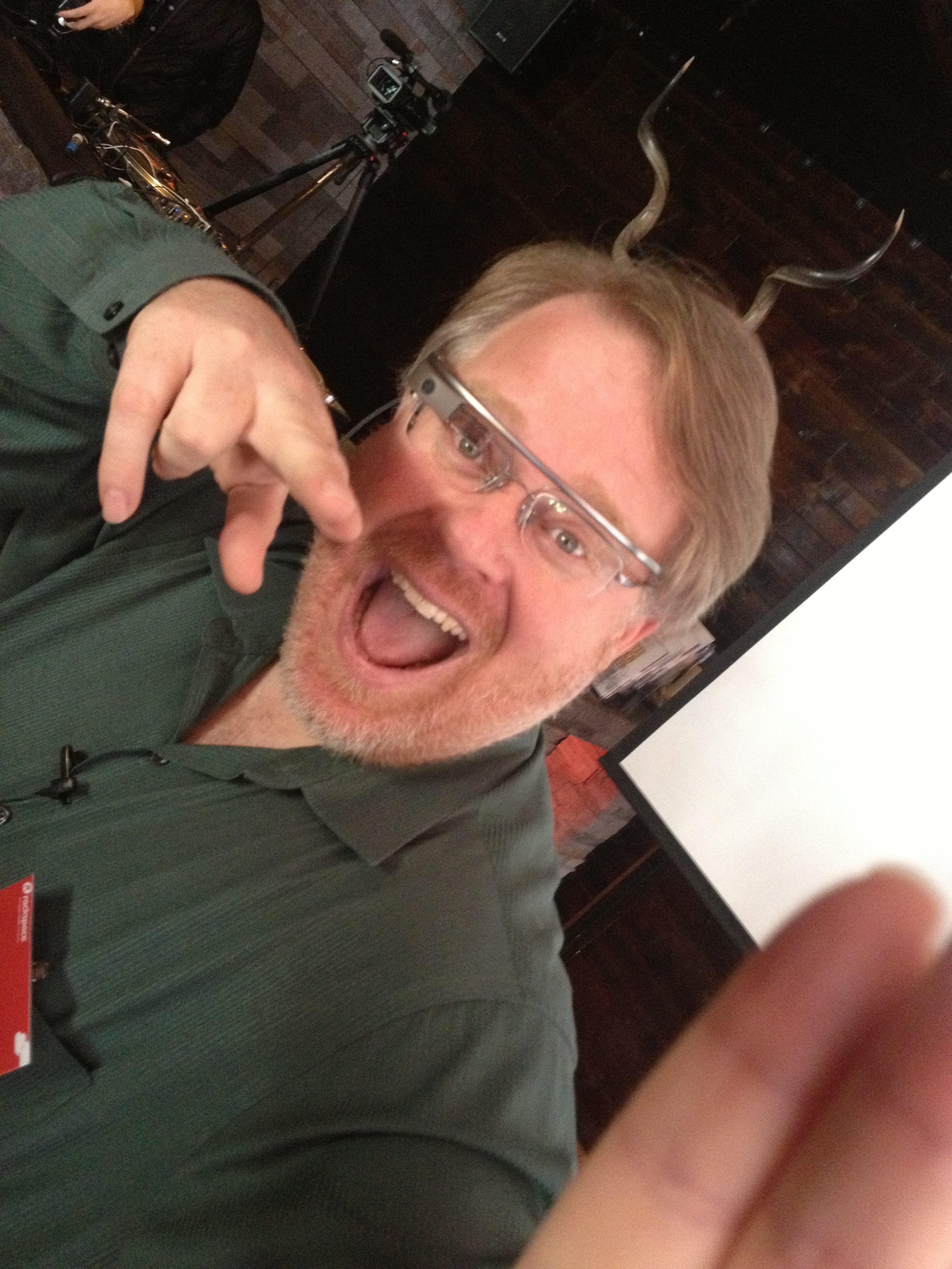 Robert Scoble promises to never live a day without wearing Google Glass (or it's competitor)
