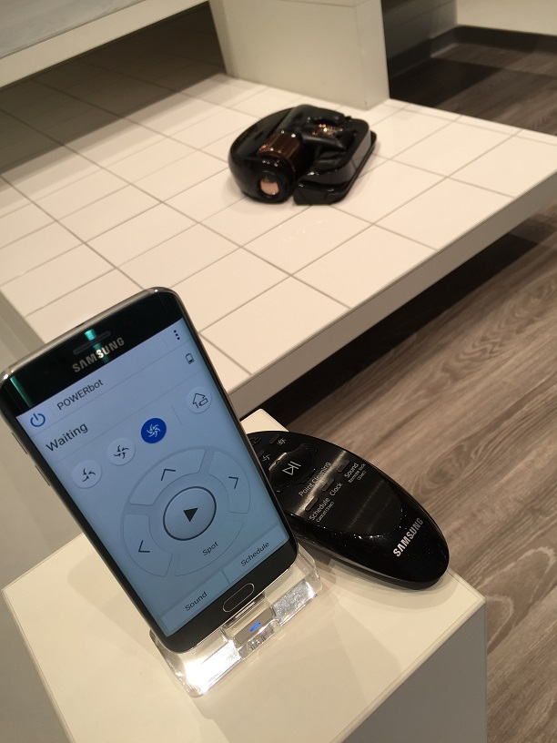 Remotely controlling your robot vacuum cleaner