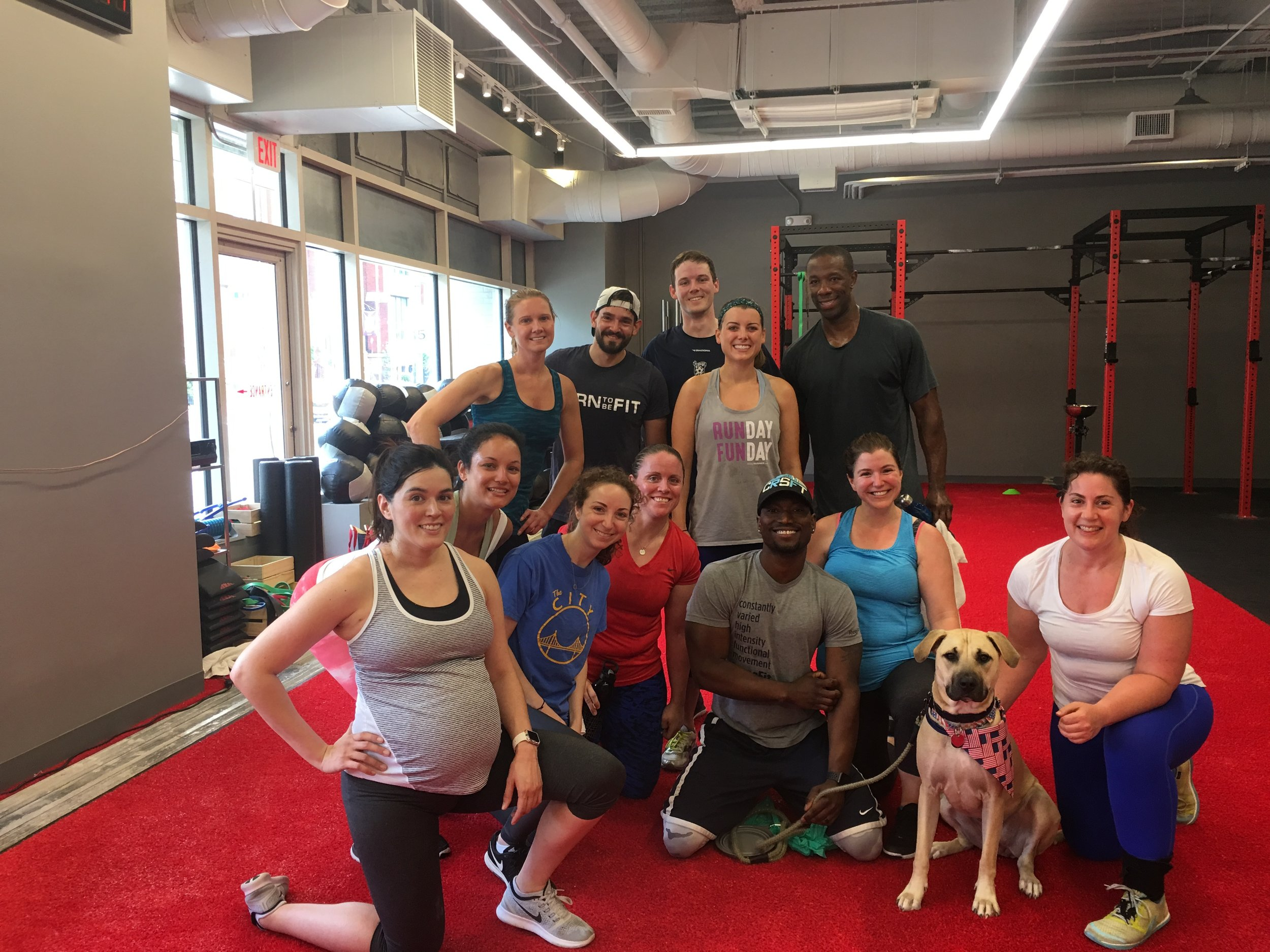 July 4 2017 Workout Shaw