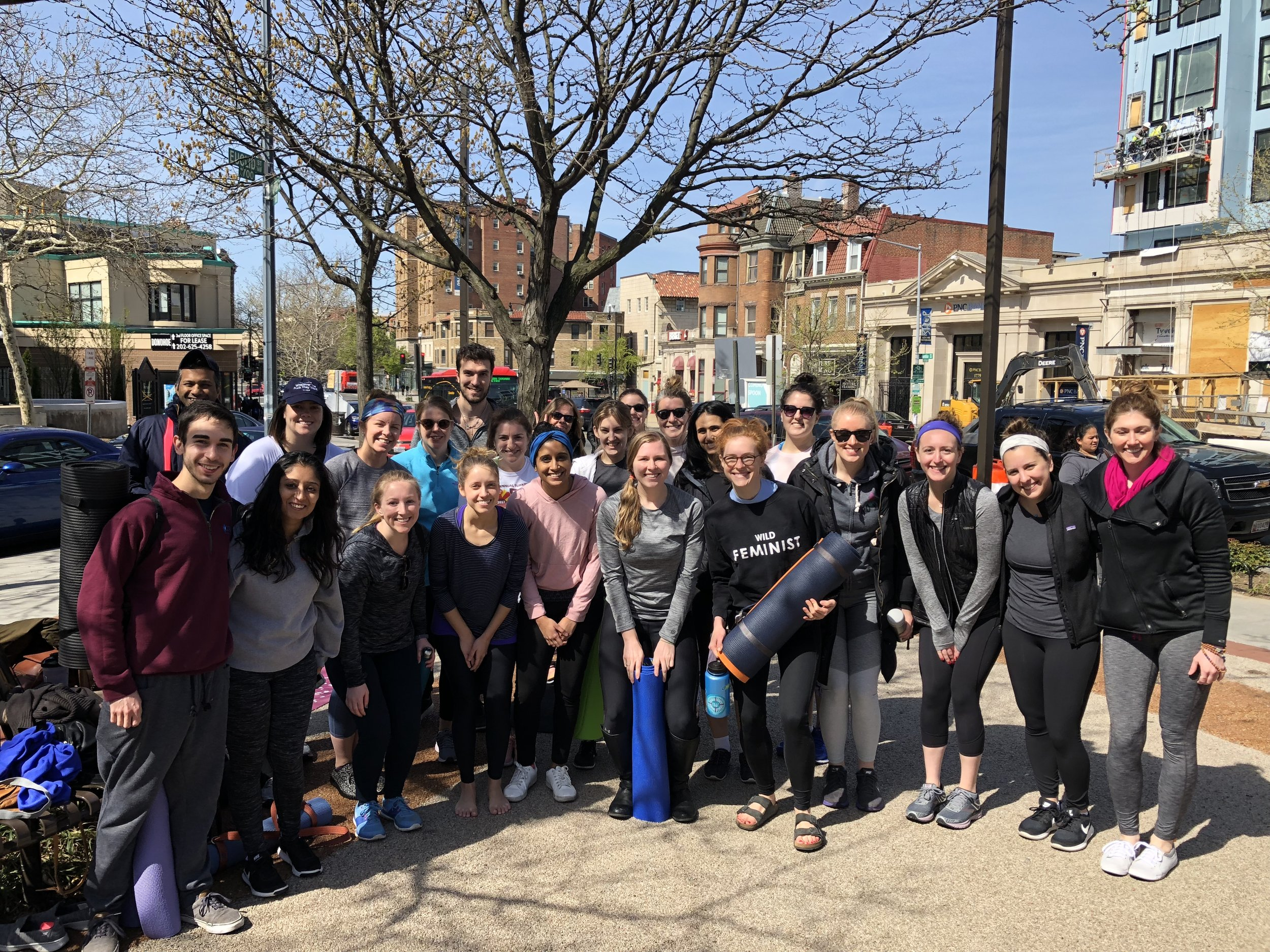 April 2018 Outdoor Yoga | The Line Hotel