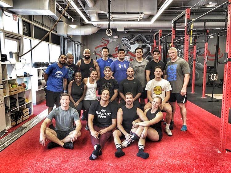 Aug. 2018 | Weightlifting Performance Seminar with Zack Telander