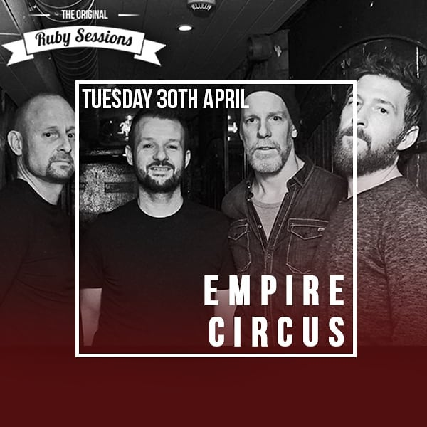 Next on the #titour schedule is our performance this Tuesday, April 30th @therubysessions in Doyle's, Dublin.  Tickets available at the door with all proceeds going to @dublinsimoncommunity  This will be #epic Come check us out!! #empirecircus #acoustic #titour #rubysessions #dublinsimoncommunity #liveperformance