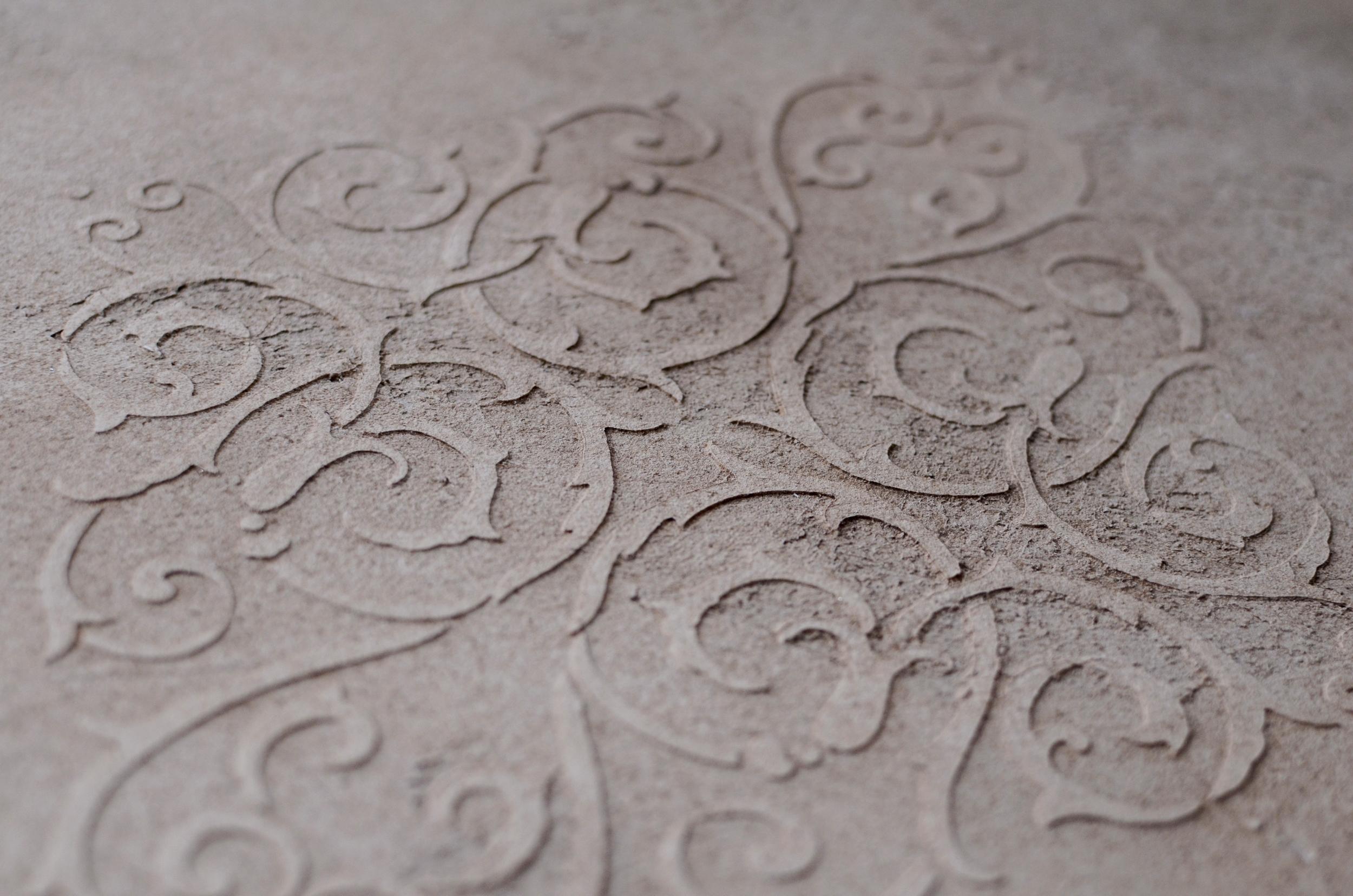 textured stencil