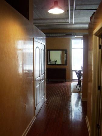 Italian Plaster hallway