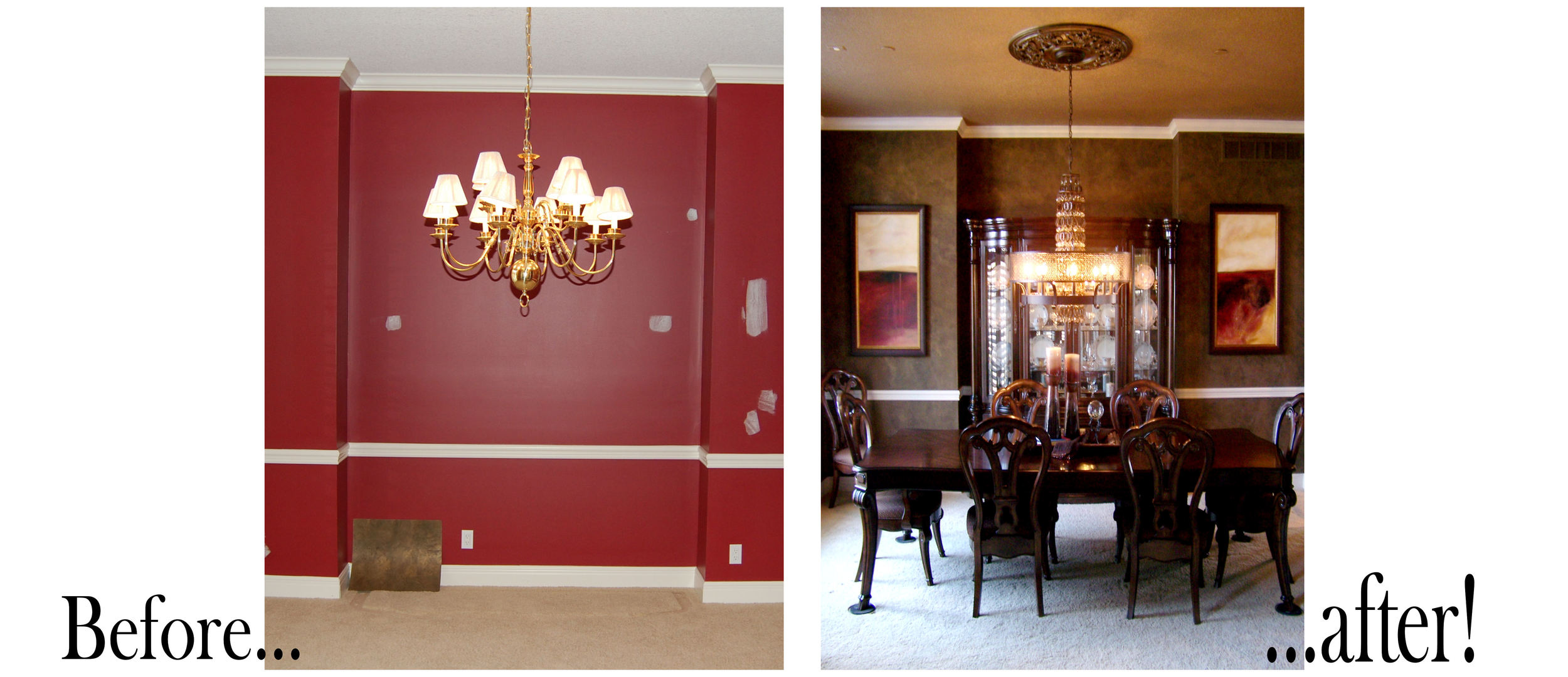 before and after Venetian Gem