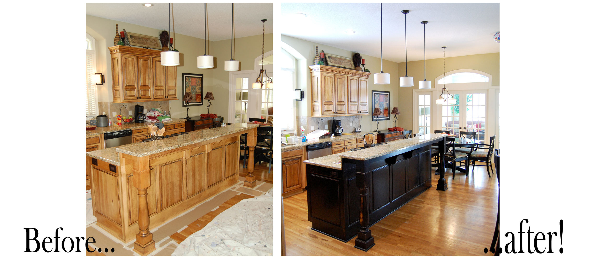 before and after black kitchen island.jpg