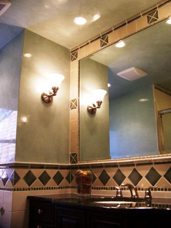Veneziano Bathroom walls and ceiling