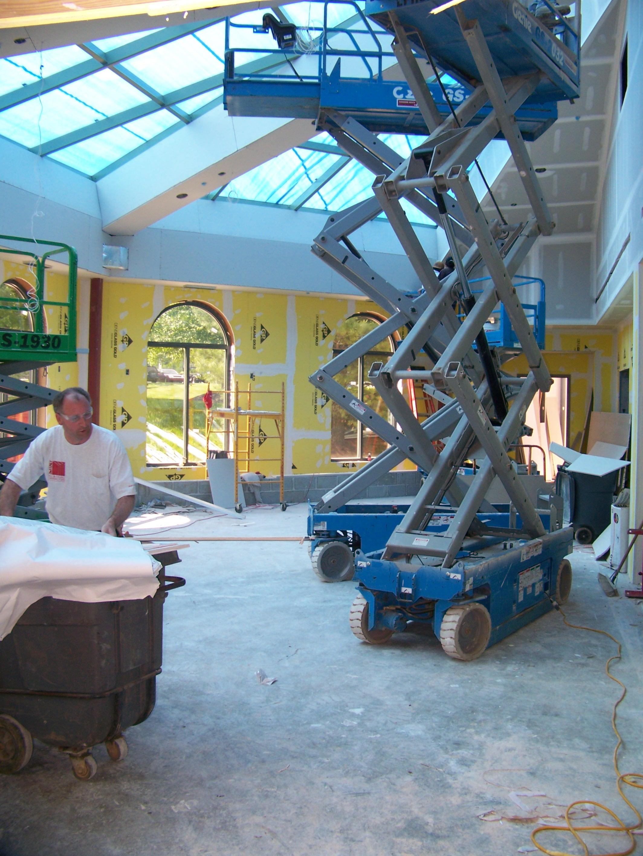 Hotel project underway