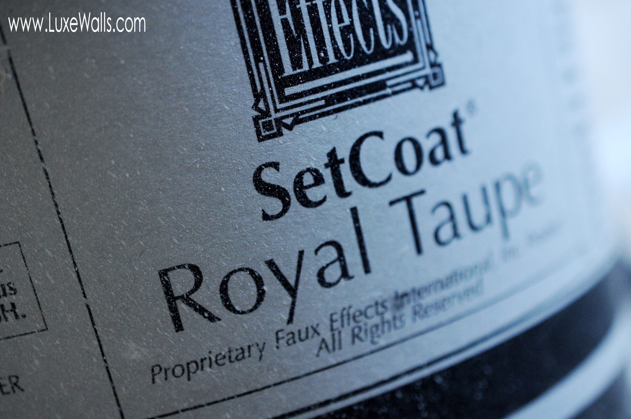 Faux Effects SetCoat, also among the line-up