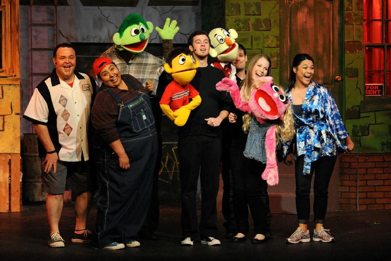 "Review of Music Theatre of Denton's ""Avenue Q"" Regional AmDram Premier."