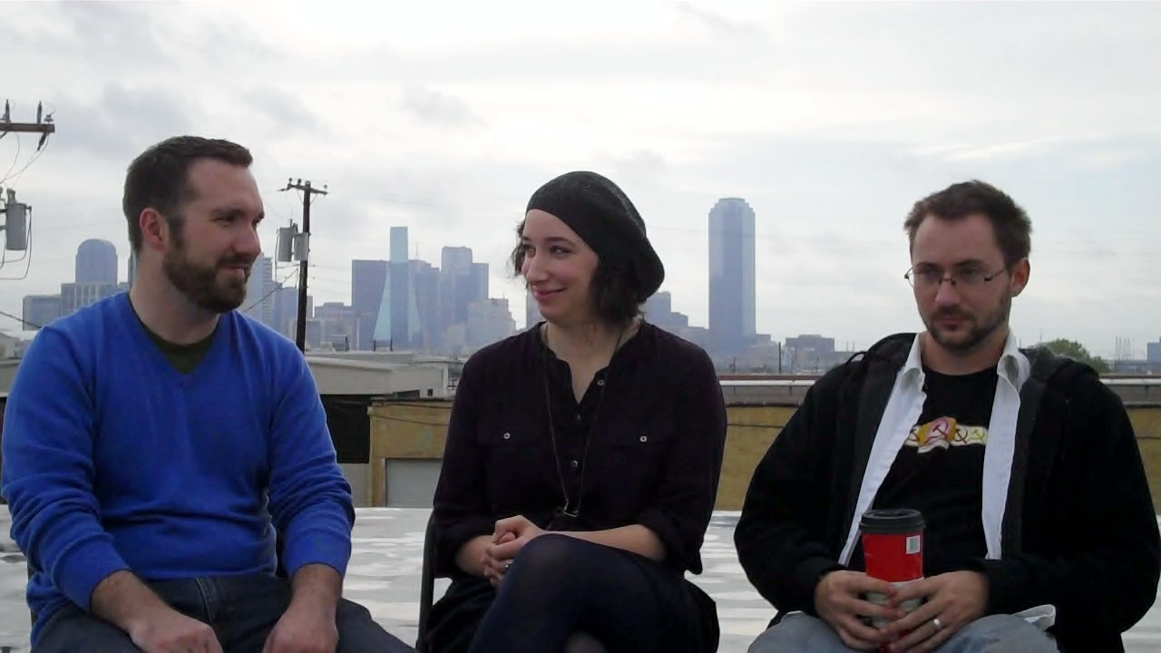 Images from Upstart Productions interview.