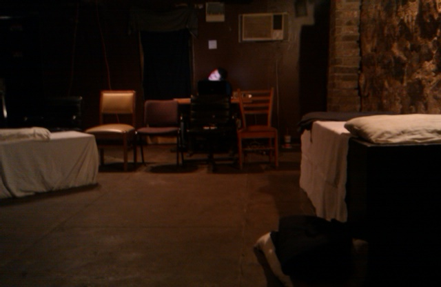 Images from Sundown Collaborative Theater's DEATHWATCH