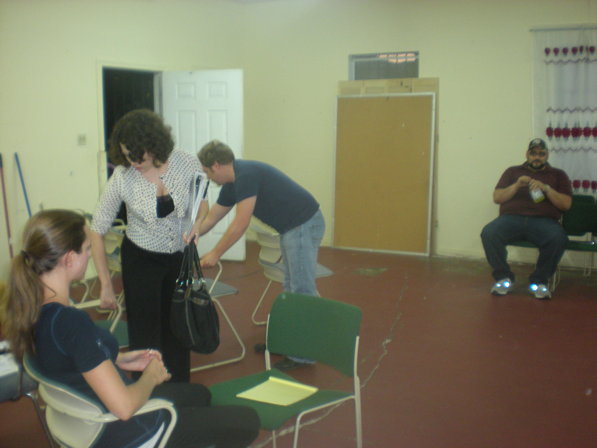 Images from Broken Gears Project Theatre Interview