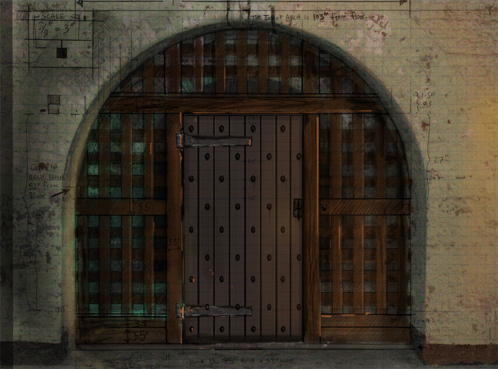 The Holding Cell Gate - concept