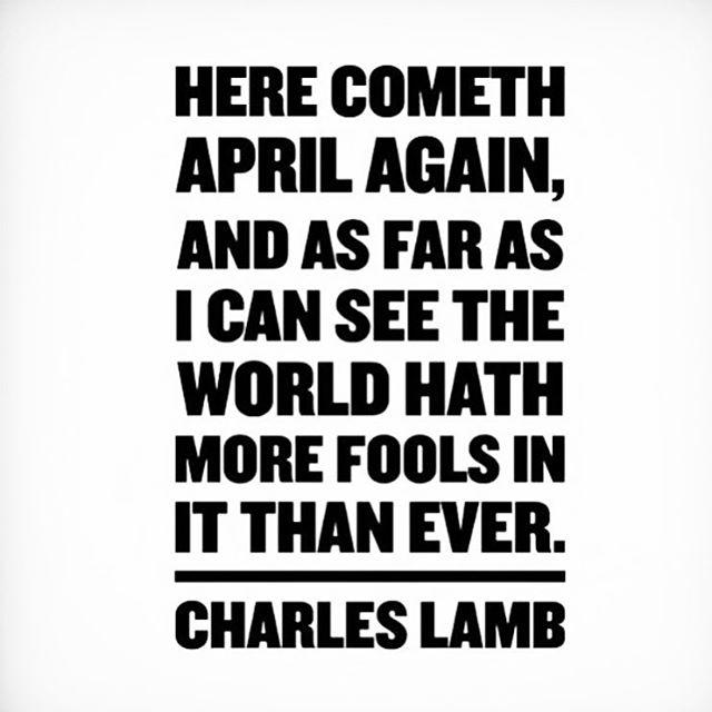 #aprilfools