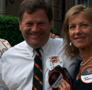 D.D. Lewis '77 and Ieva Rogers '80