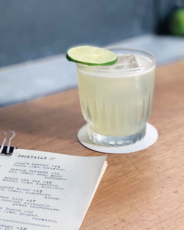 """Brand New Day"" by @the.tasting.kitchen . . *Mezcal *@amaroangeleno *Lime *Habanero . . If you were looking for clues, this would be a good place to look. 😉"