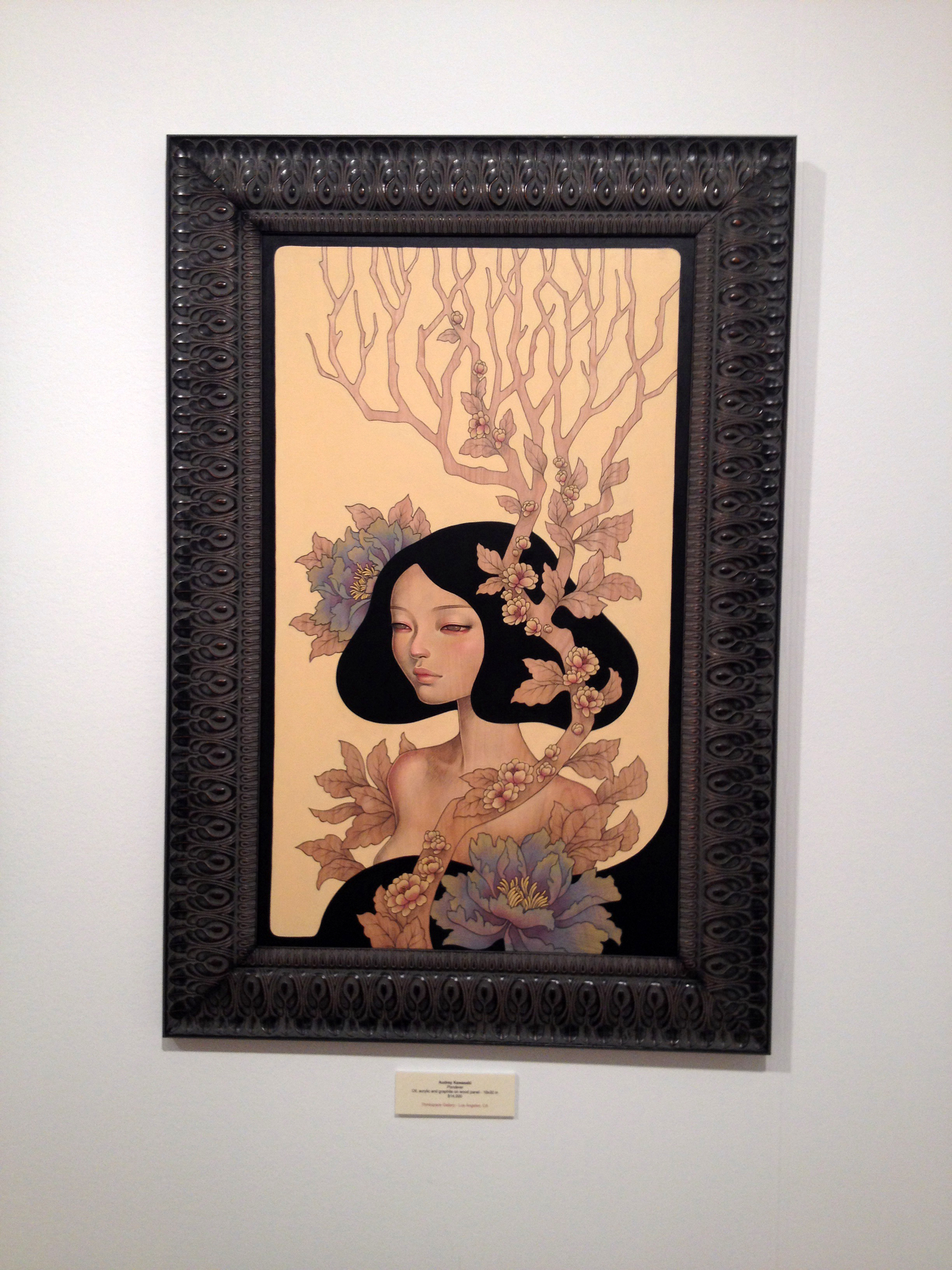 To see Audrey Kawasaki's work in person was such a treat.