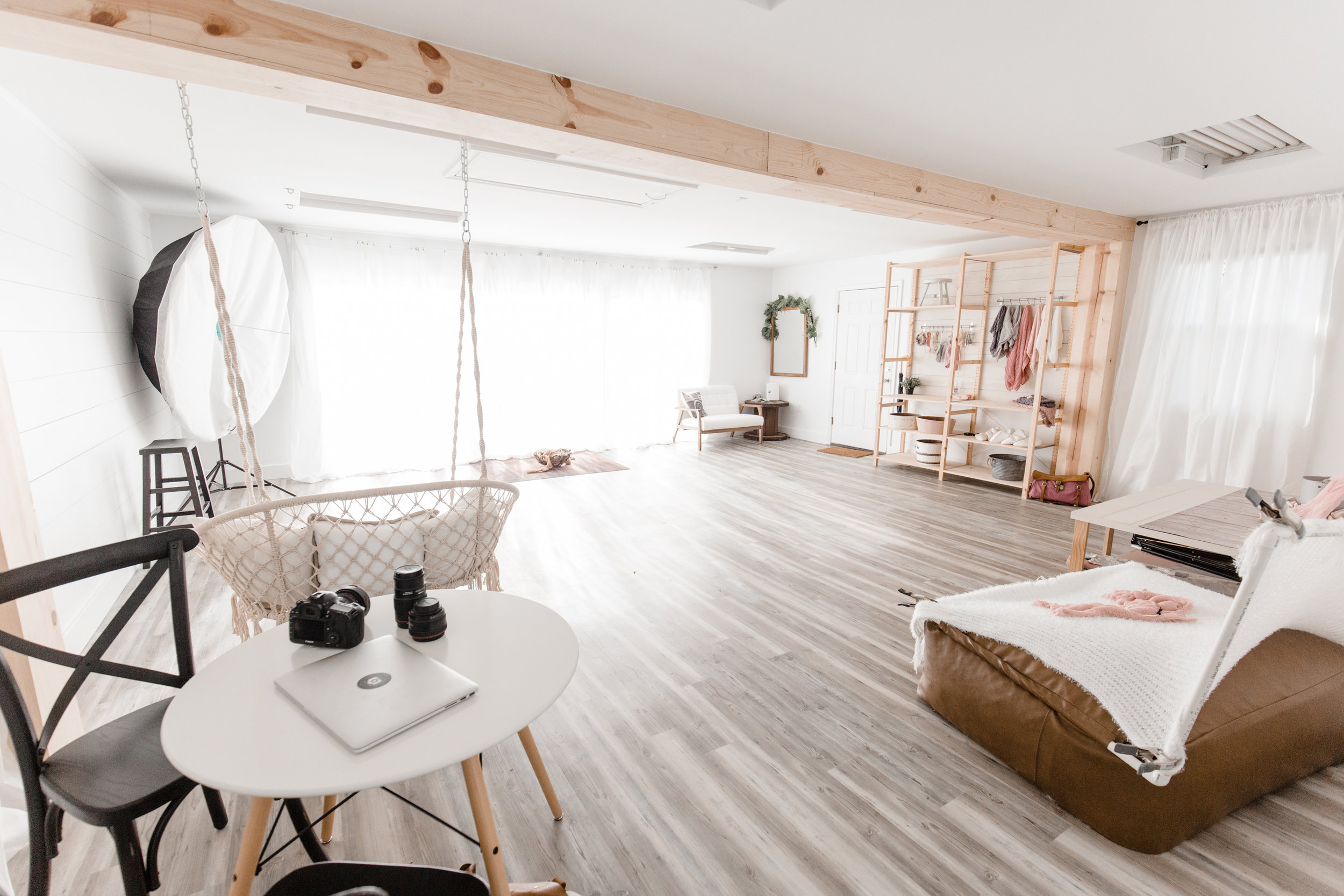 Studio - privately located close to downtown Annapolis with over 600 square feet of studio space dedicated to first year photography the studio has everything we need including an incredible 15 foot wall of gorgeous natural light.