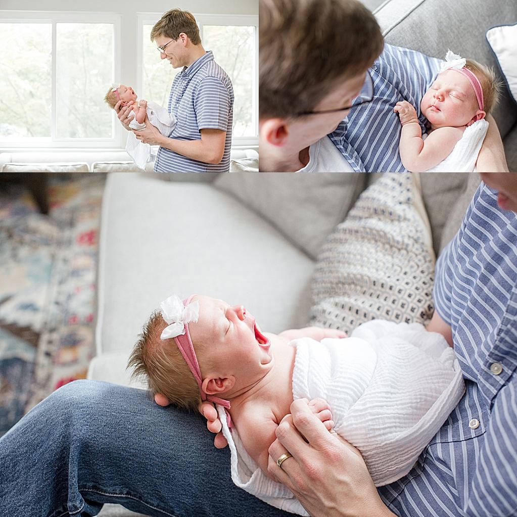 Lifestyle Newborn Session in Alexandria, Virginia