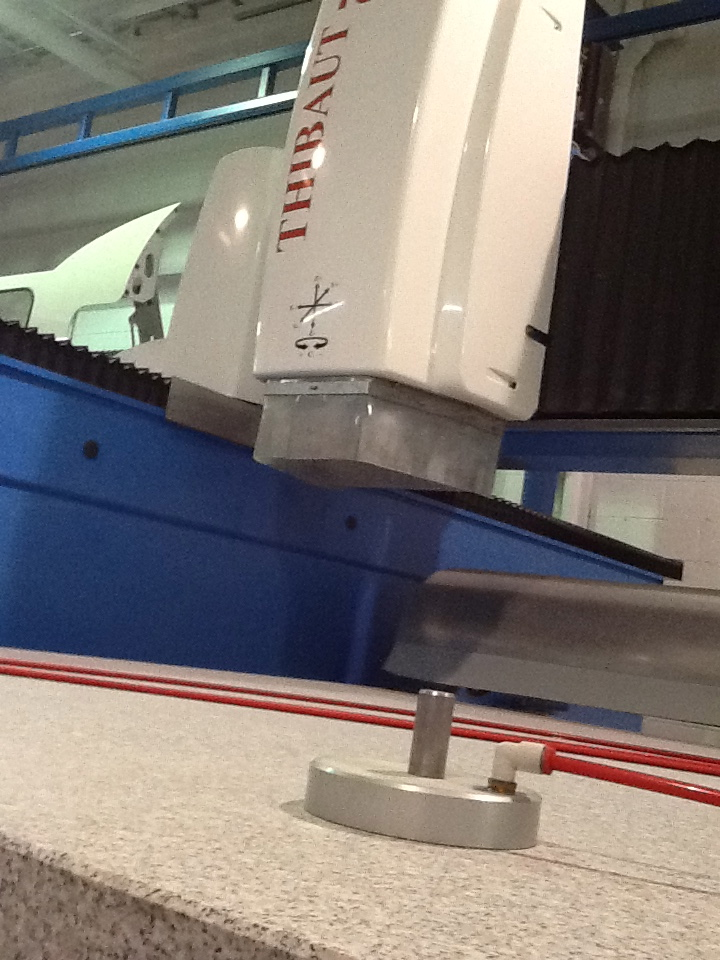 granite CNC counter table