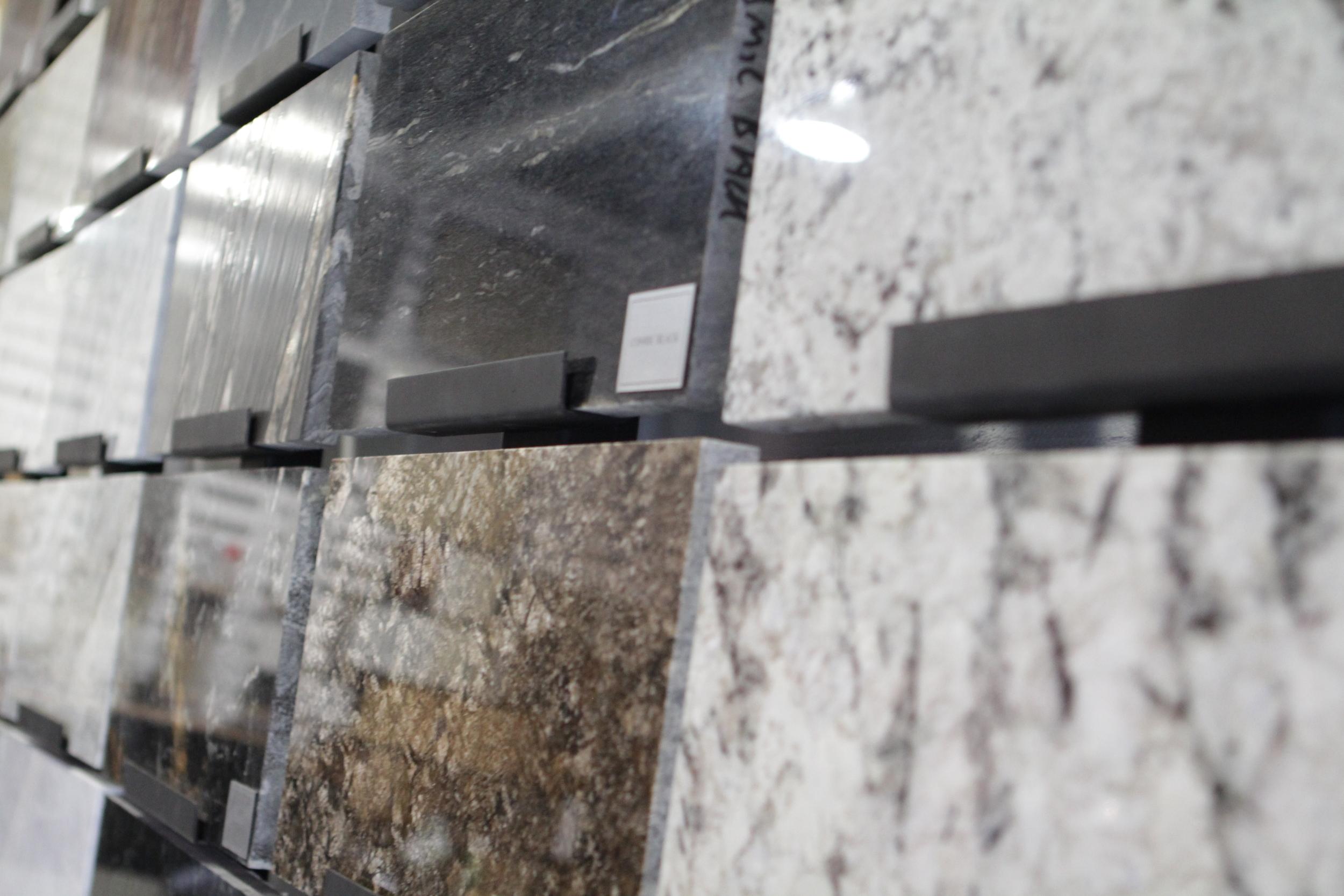 Granite et quartzite