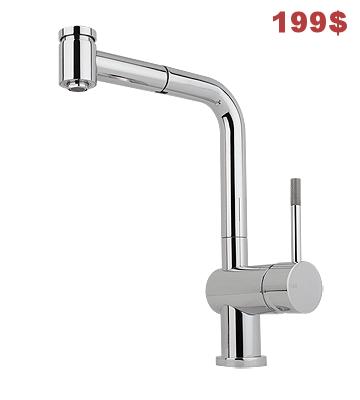 Robinet Lavande Nickel/Stainless steel en vente, version chrome prix normal