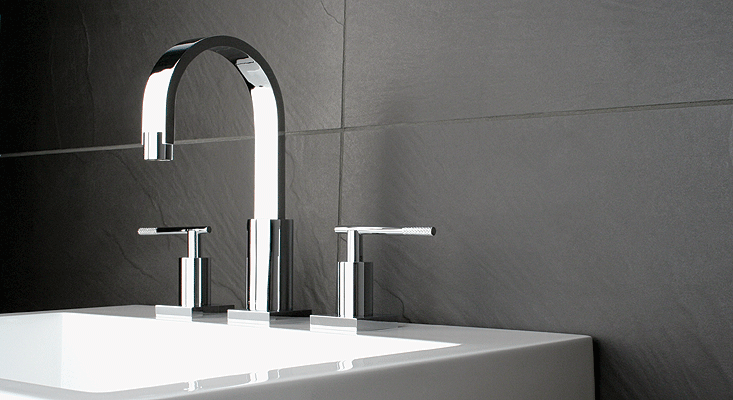 Robinet de lavabo salle de bain Rubi Evita avec poignees